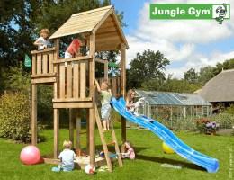 Jungle Gym Spielturm Palace + Rutsche Frei haus XL   Precogs