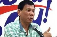 Davao City Mayor Rodrigo Duterte. (Photo: Philippine News Agency)