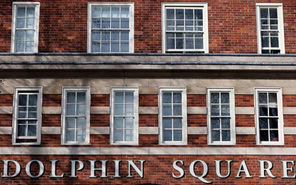 Much of the abuse was alleged to have taken place at the Dolphin Square complex in Pimlico, where a large number of MPs had flats Photo: Reuters