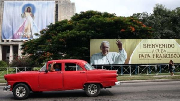 The Pope's visit has sparked huge interest in Cuba