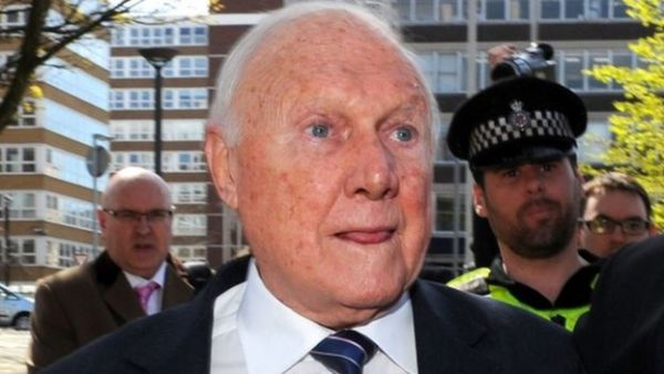 Stuart Hall was jailed in 2013 after admitting indecently assaulting 13 girls