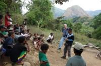 Preda Fair trade organic mango team visit the indigenous  mangos farmers