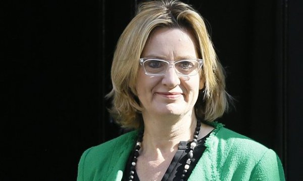 Amber Rudd accepted the resignation 'with regret'. Photograph: Kirsty Wigglesworth/AP