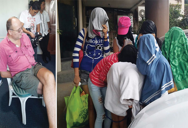 British national Wade Lloyd Allsopp is under investigation following his arrest by the National Bureau of Investigation-7 for alleged exploitation, human trafficking and cyber crime. The NBI rescued seven women during an operation at a hotel in Barangay Kamputhaw, Cebu City yesterday afternoon. Decemay Padilla