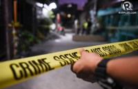 WAR ON DRUGS. A police officer at a crime scene after a buy-bust operation in Taguig City on July 28, 2016. Photo by Alecs Ongcal/Rappler