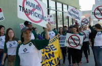 L.A. Freedom Walk, January 14, 2017. (photo/DIMA OTVERTCHENKO)