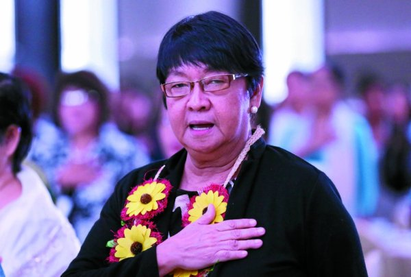 DSWD Secretary Dr. Judy M. Taguiwalo INQUIRER/ MARIANNE BERMUDEZ