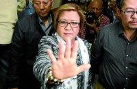 Sen. Leila de Lima. (File photo by MARIANNE BERMUDEZ / Philippine Daily Inquirer)