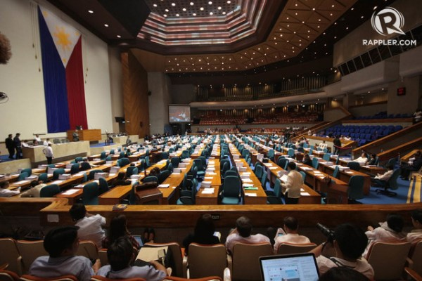 CHR BUDGET. The House votes to give the commission only P1,000 for 2018. Rappler file photo