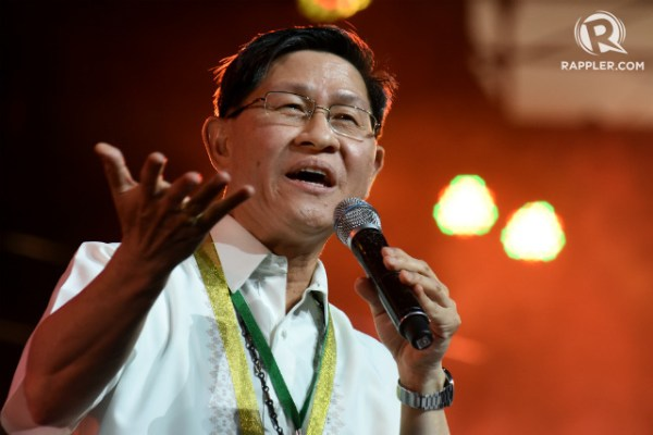TOP PRELATE. Manila Archbishop Luis Antonio Cardinal Tagle speaks at the 4th Philippine Conference on New Evangelization in July 2017. Photo by Angie de Silva/Rappler