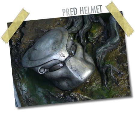 Cinemaquette P1 Helmet on Base