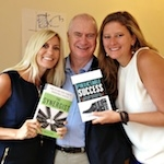 Erin Verbeck and Sarah Petty with Les at our NYC Workshop longdesc=
