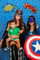 Super Hero Photobooth at the 3rd Annual Preemie Power Family Celebration