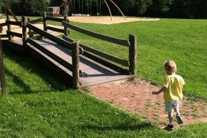 navigating the playground