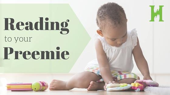 Reading to your preemie