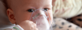 rsv 101, NICU, RSV prevention, baby with nebulizer