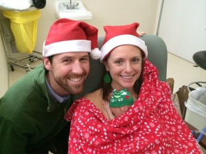 Christmas holidays in the NICU, holiday stress