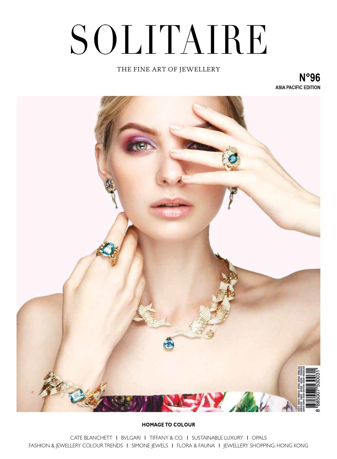 Not All That Glitters Is Green X Solitaire Magazine, Victoria's Jewelry Box