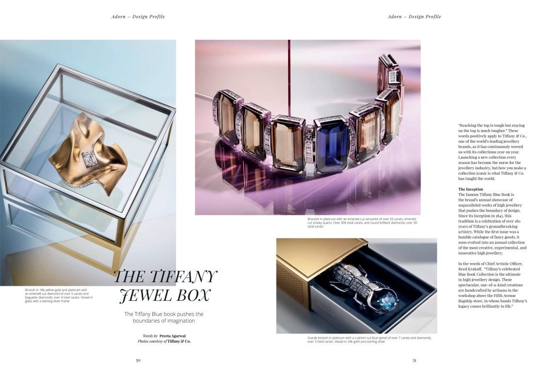 The Tiffany Jewel Box X Solitaire Magazine, Victoria's Jewelry Box