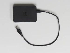 External hard drive is perfect for storing electronic paperwork