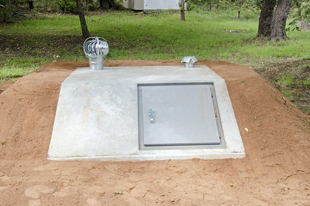 Shelter From Storm With Devices >> Outdoor Concrete Storm Shelters Preferred Shelters Storm Shelters Okc