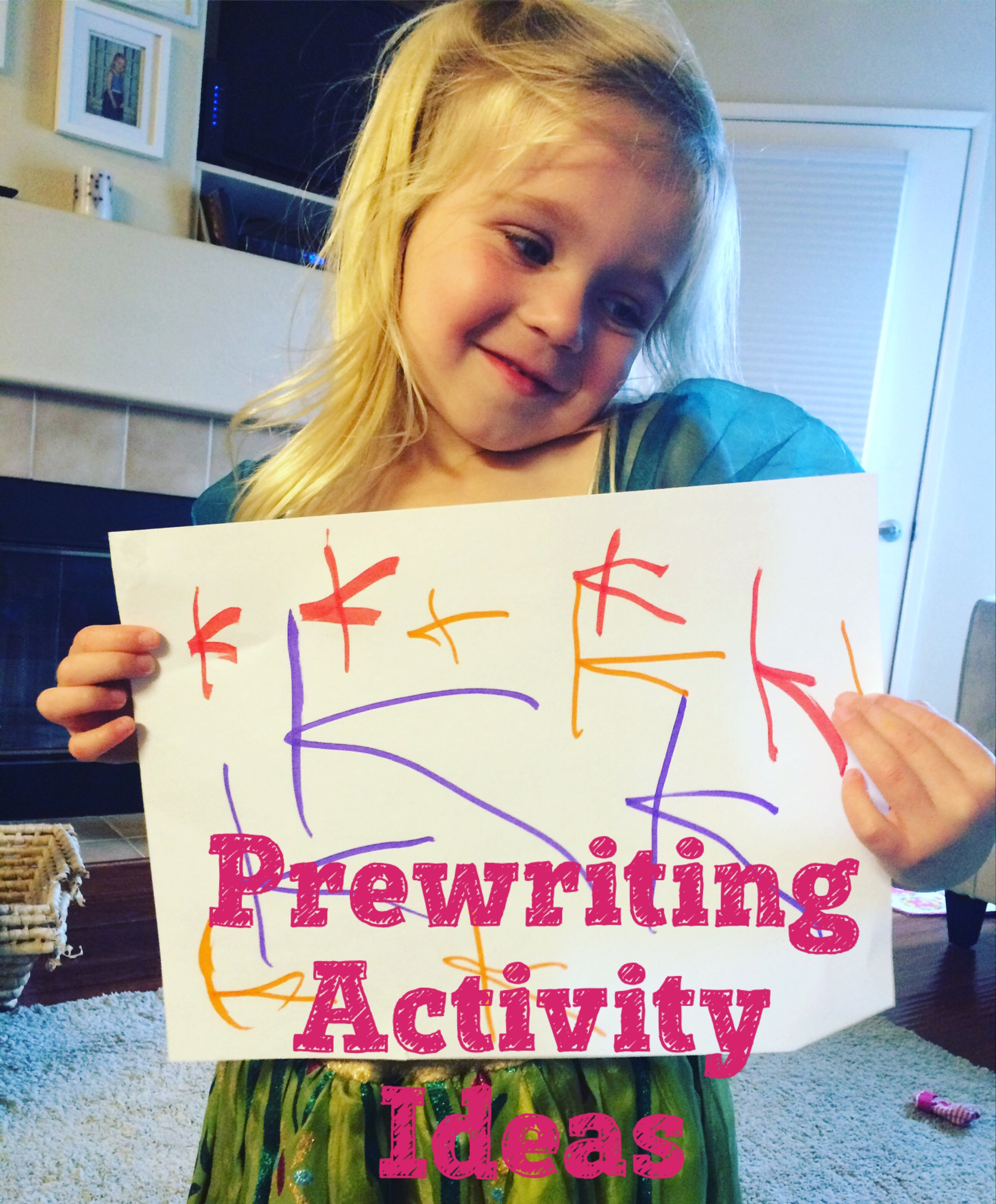 Pre Writing Activity Ideas To Help Prepare For