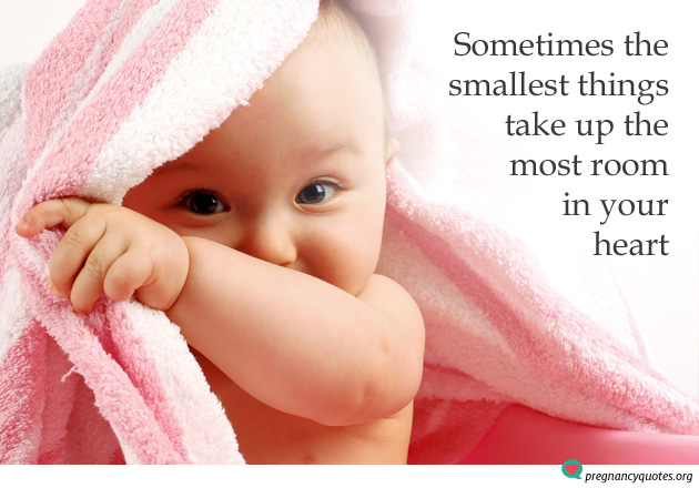 The smallest things take up the most room