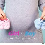 girl or boy you'll bring much joy