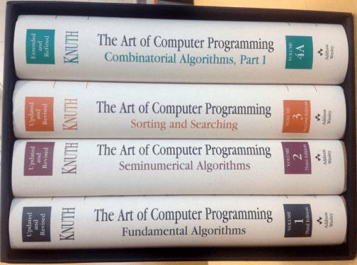 The art of computer programming - TAOCP