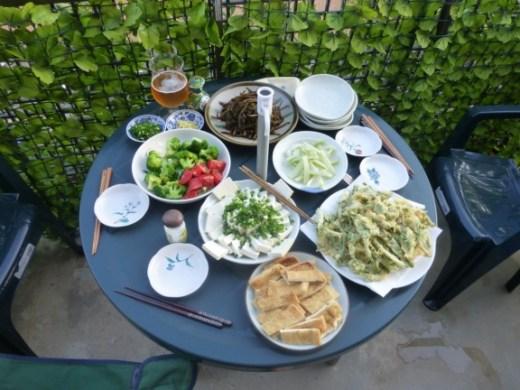 僕の天国:ウドの夕食