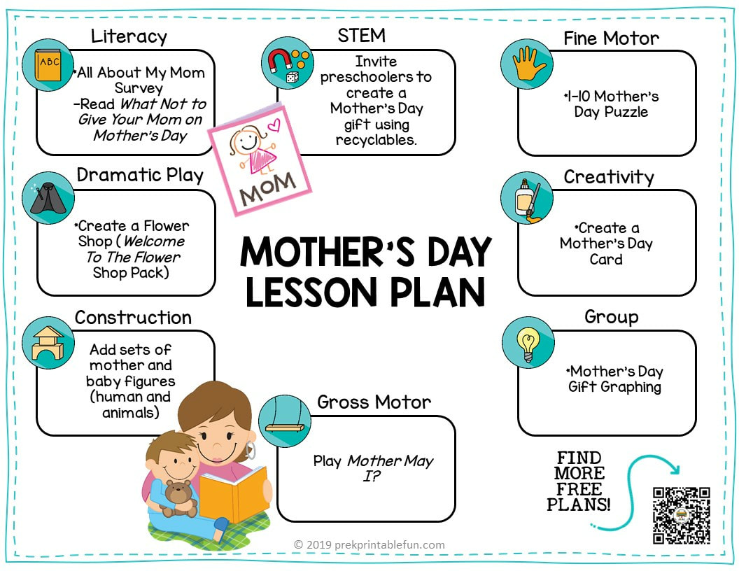 Mother S Day Preschool Lesson Planning Ideas