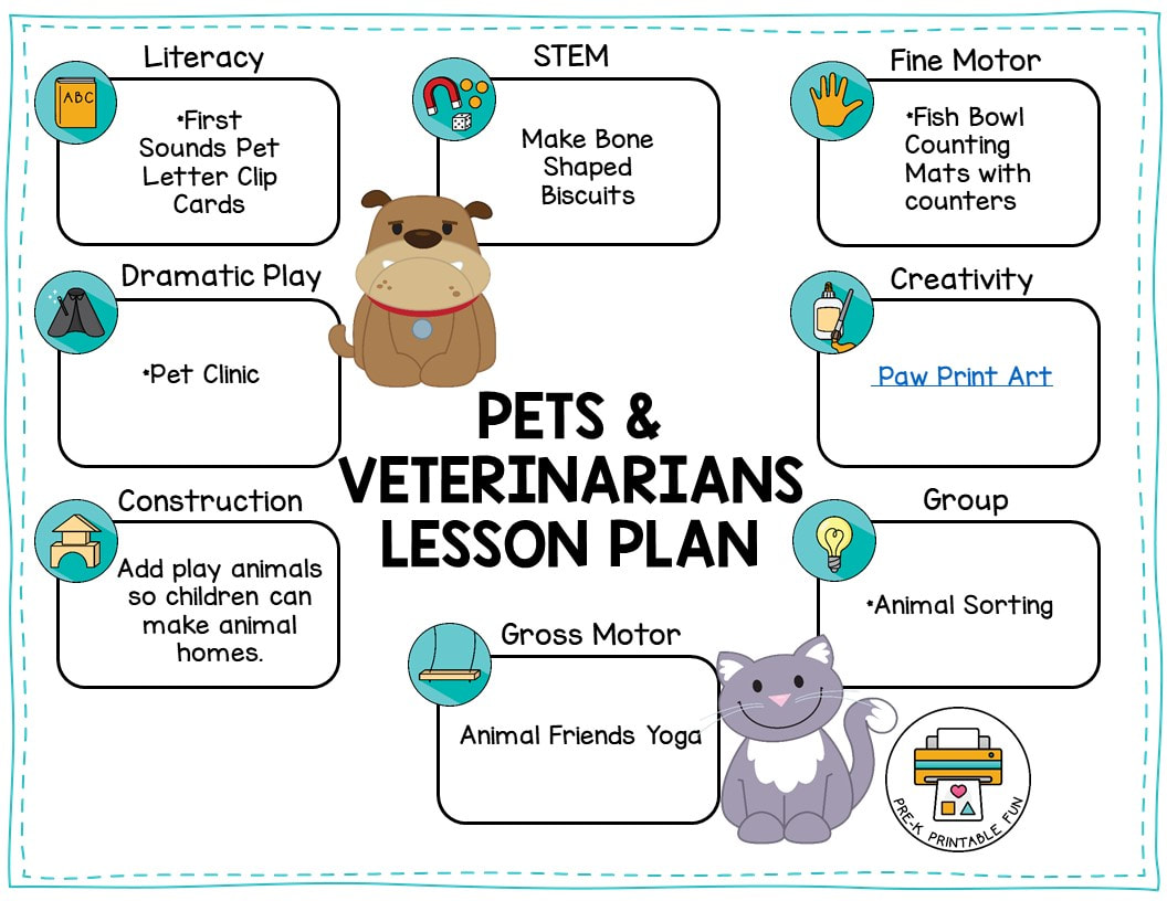 Preschool Veterinarian Activities