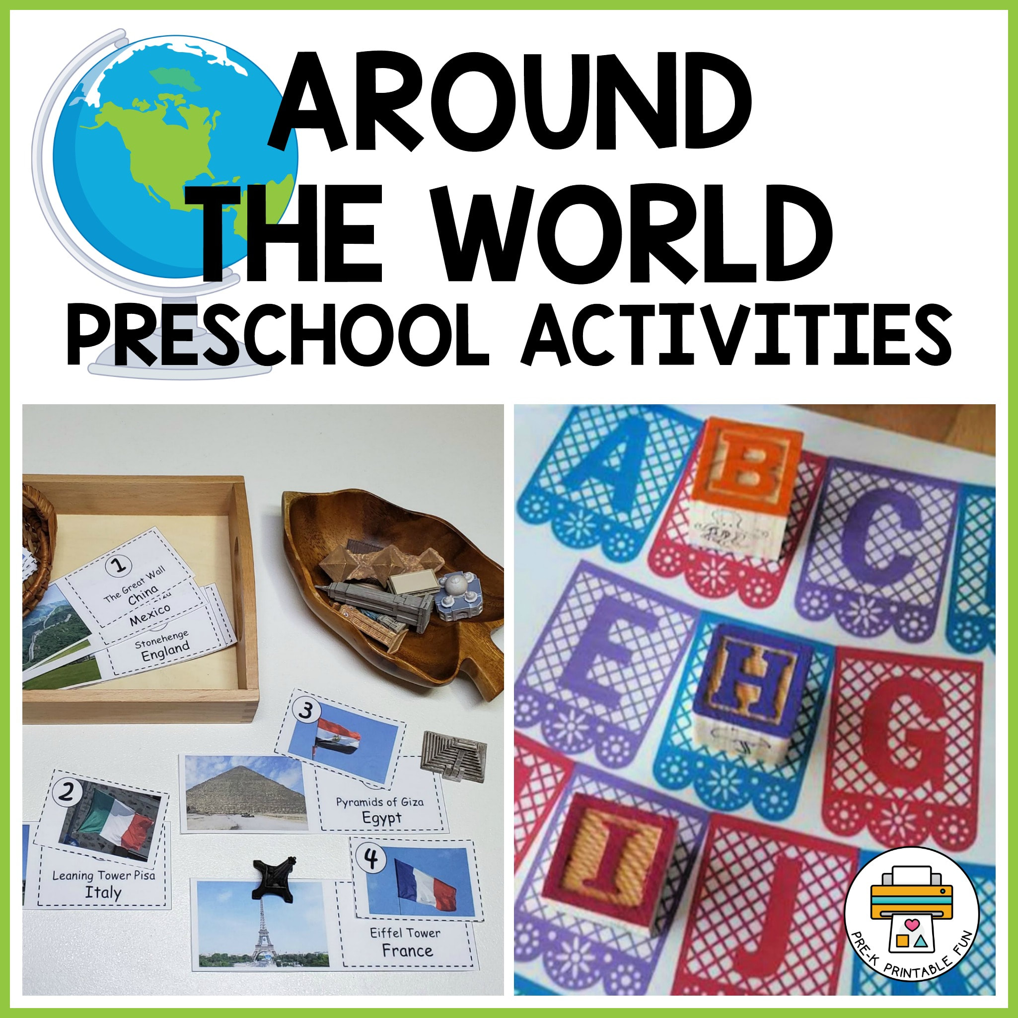 Around The World Activity Pack