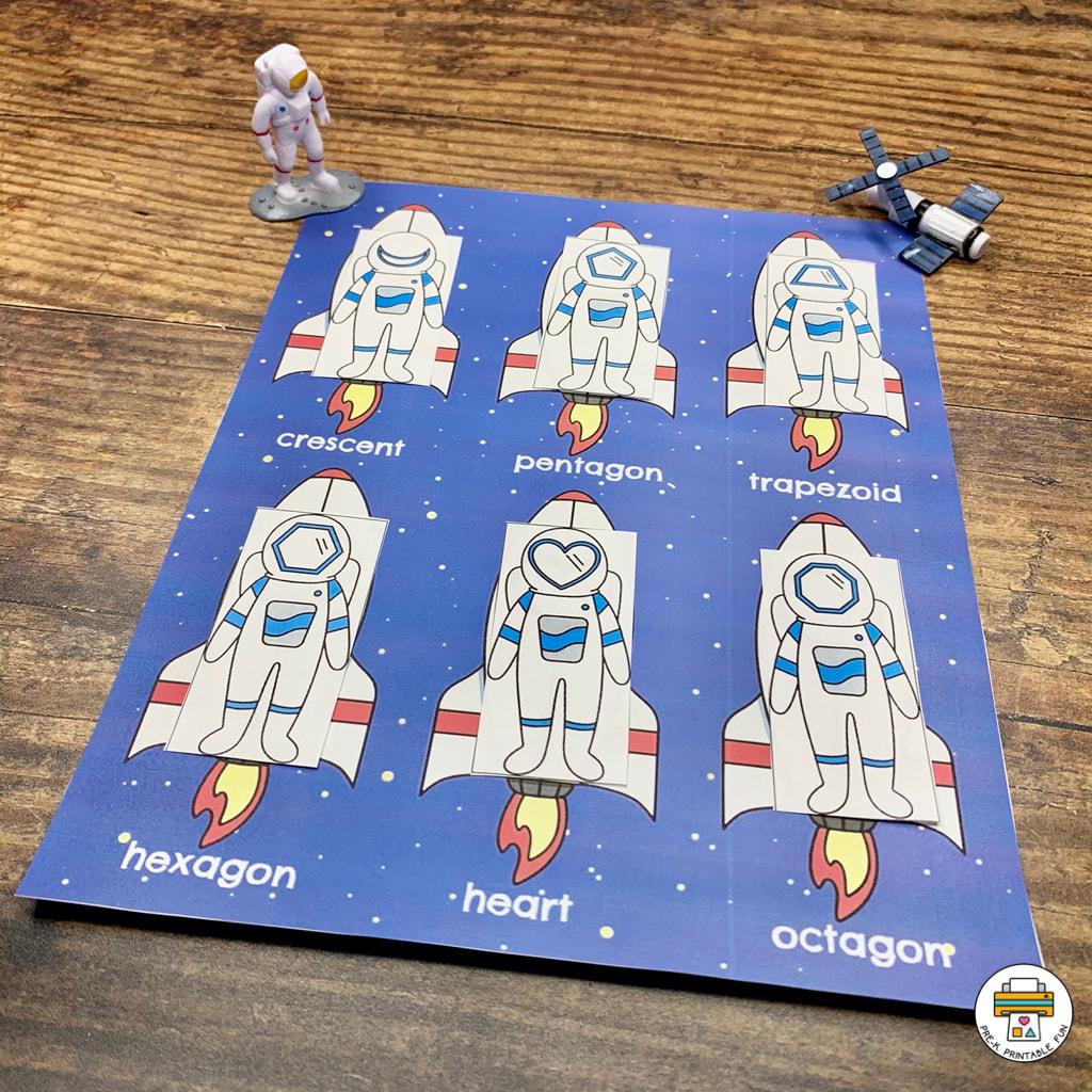 Outer Space Preschool Activities