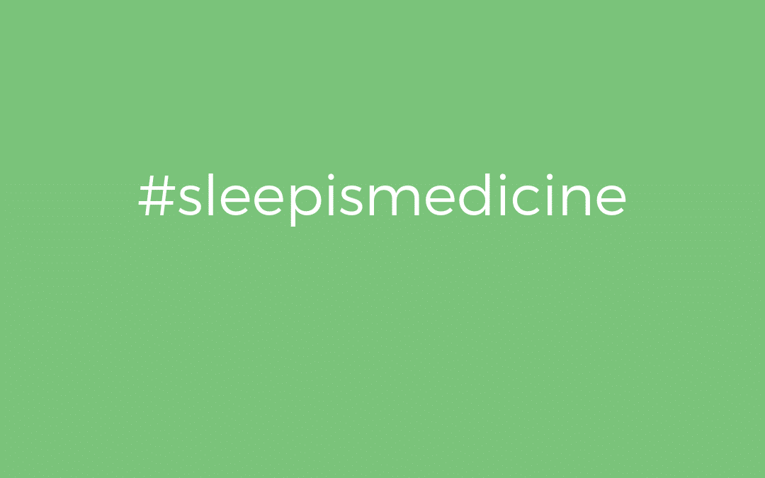 Why Sleep is Medicine