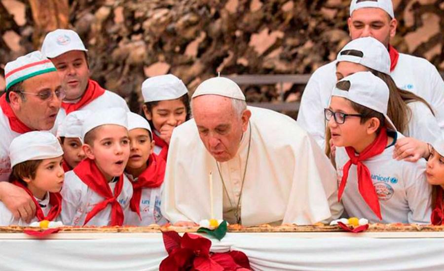 ¡Feliz Cumpleaños 83, Papa Francisco!