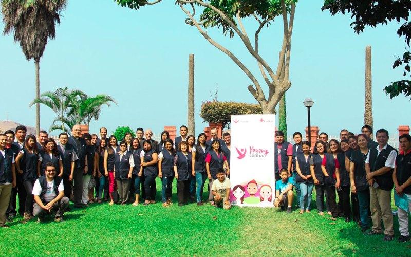 Miembros de Cáritas Moyobamba participaron del Taller Young Cáritas
