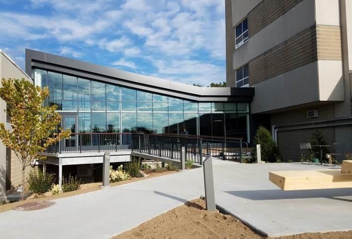 MSCBA - MWCC - EXT - Bemis Lounge patio encloure