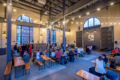 Peregrine - Substation Brewery Pop Up - INT - Elevated Overview - DMC