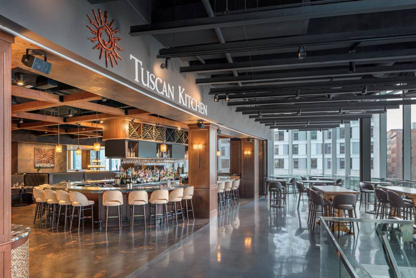 Tuscan Brands - Tuscan Seaport - INT - Mall Entry - GH