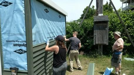 PCA Volunteers Habitat for Humanity Lynn 09