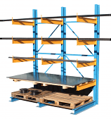 Cantilever Racking - 16 x 500mm Arms