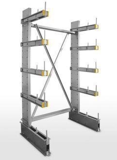 Dexion Steel Cantilever shelves