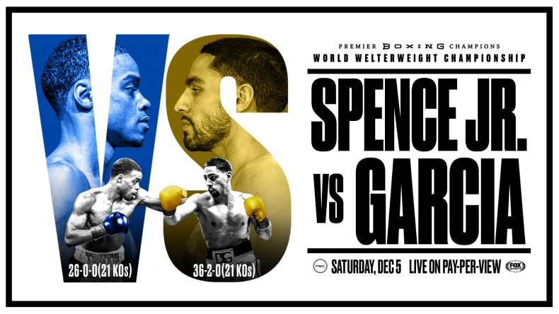 Fight Night - Spence Jr vs Garcia, Fundora vs Ahmed, Lopez vs Santana