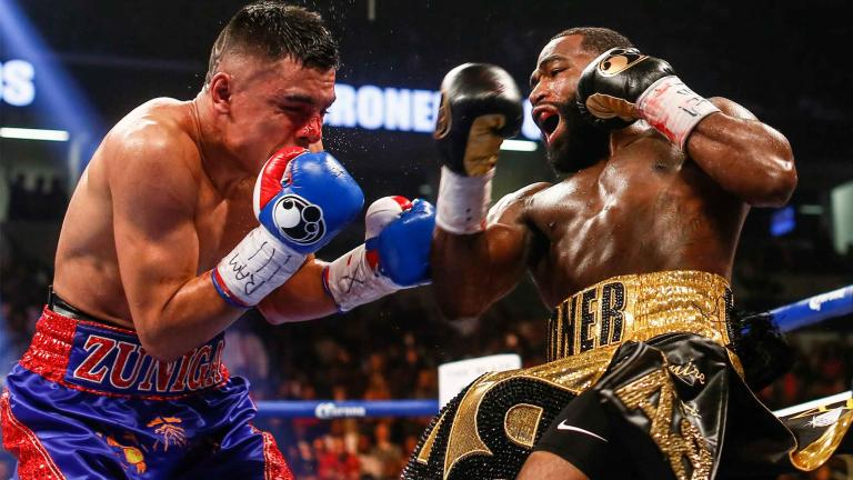 Image result for adrien broner vs adrian granados