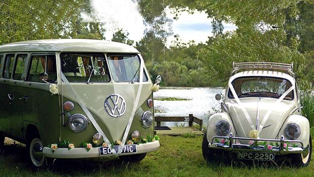 Vw Campervan Wedding Car Decoration