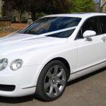 White Bentley Wedding Car Hire Buckinghamshire