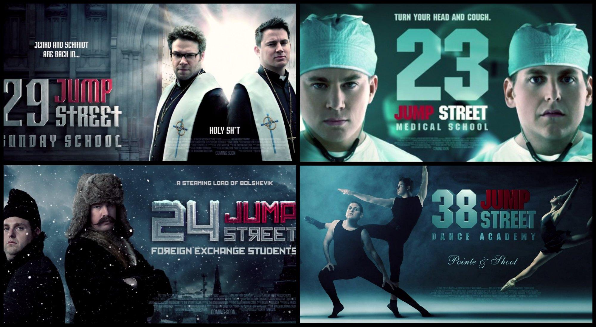 22 Jump Street La Meilleure Blague Du Film C Est Son Generique De Fin