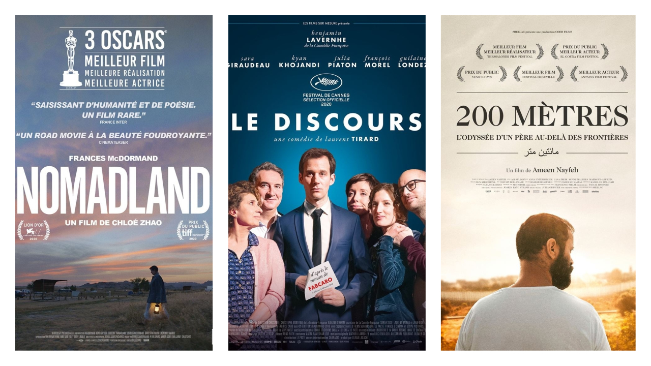 Nomadland, Le Discours, 200 mètres: Les nouveautés au cinéma cette semaine