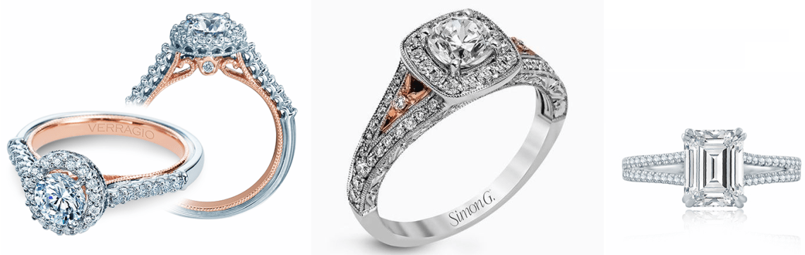 Verragio Engagement Rings -- Golden Nugget Jewelers -- Philadelphia
